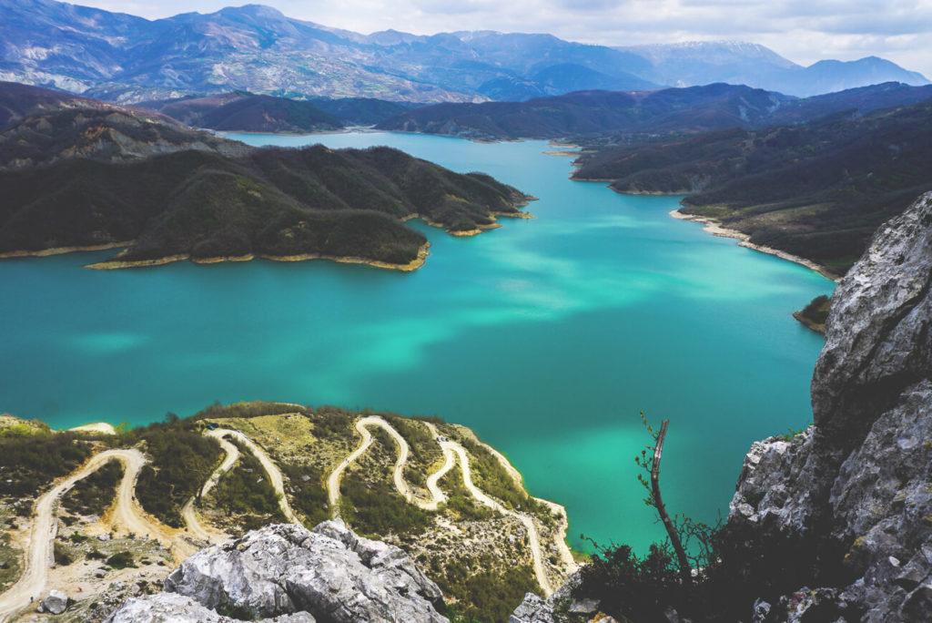 Tirana-Bovilla-Reservoir-Stausee
