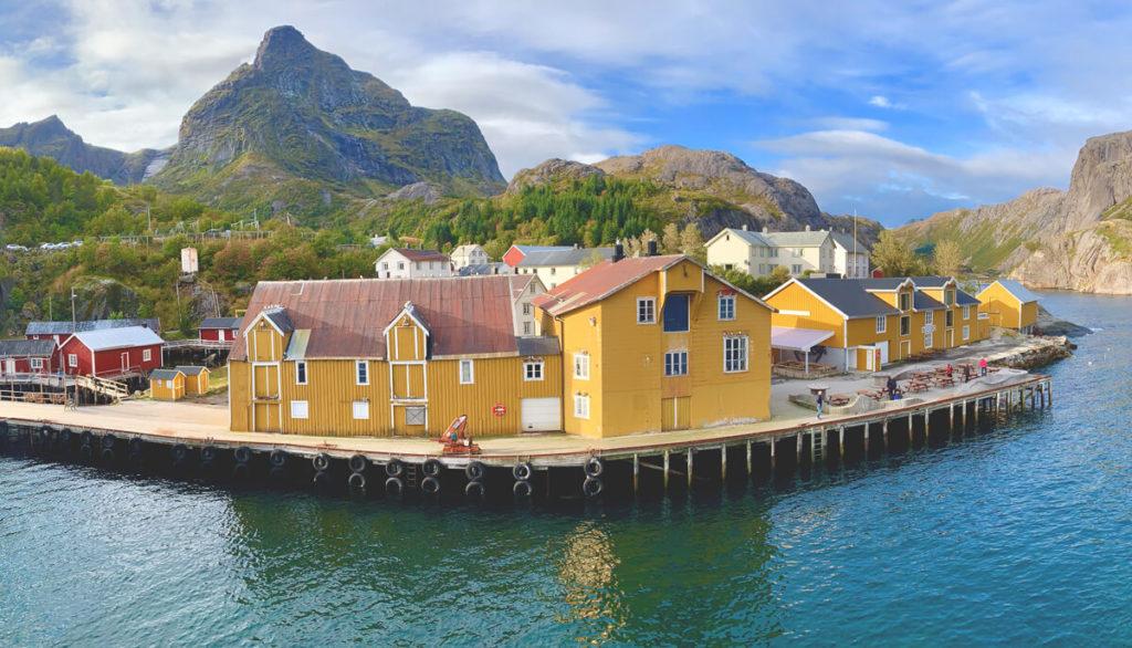 lofoten-in-norwegen-Museumsdorf-Nusfjord