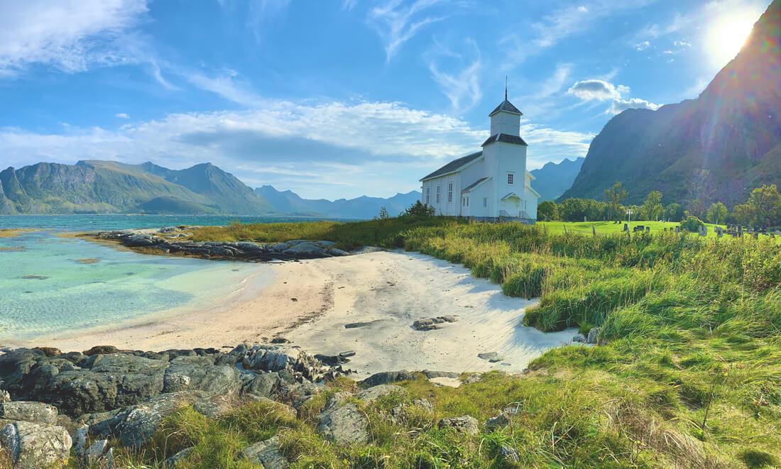 Die Lofoten in Norwegen – Eine Luchspfote in der Arktis