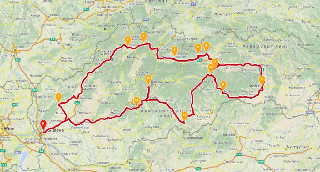 slowakei-rundreise-route-zwei-wochen