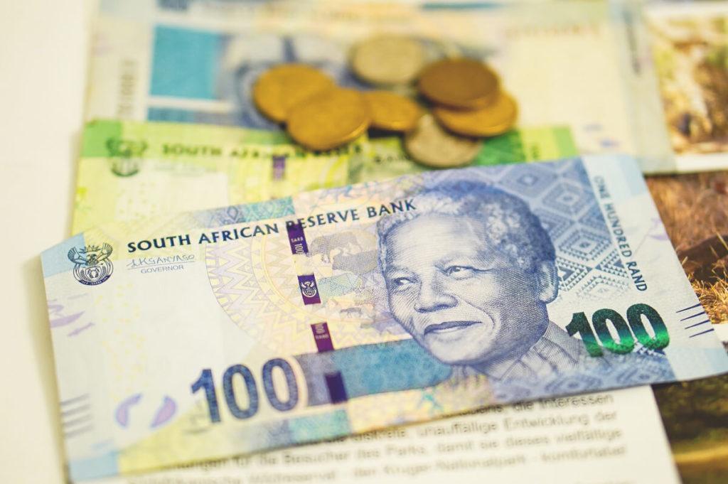 Währung Südafrika Scheine Münzen