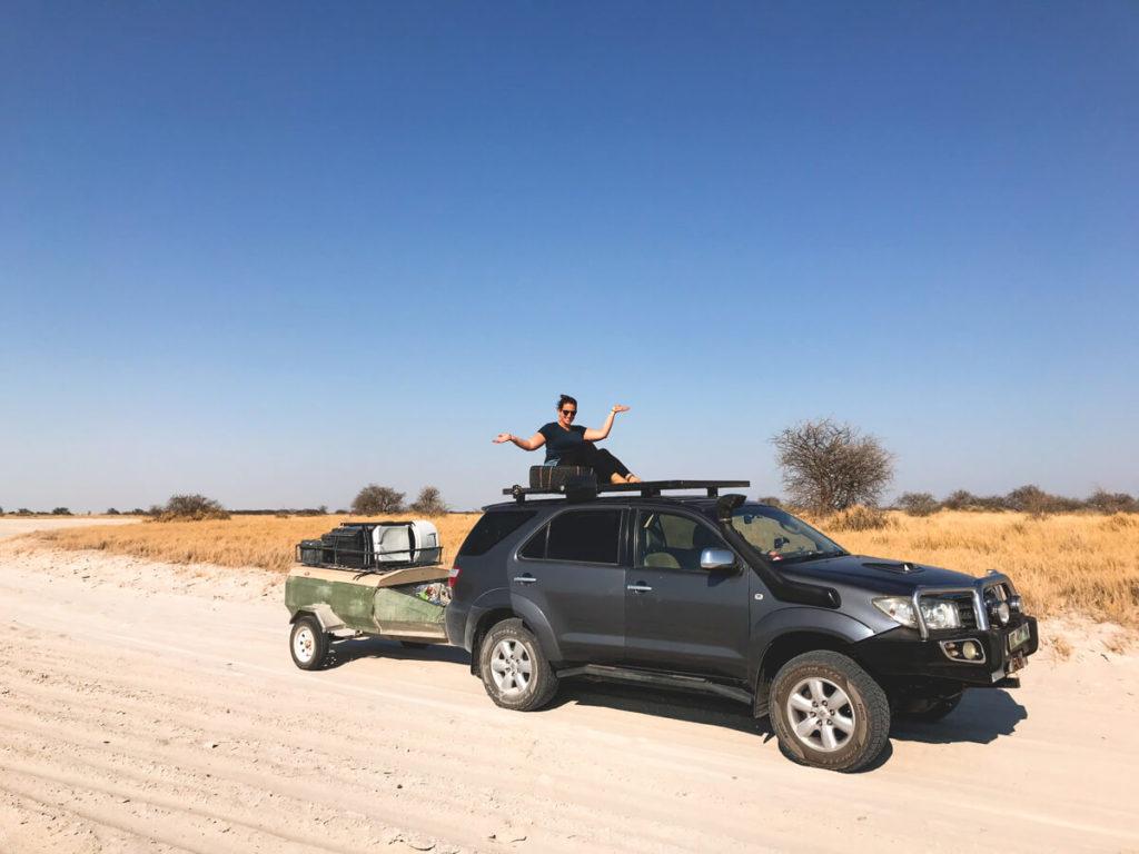 Botswana-Rundreise-Allrad-Camper