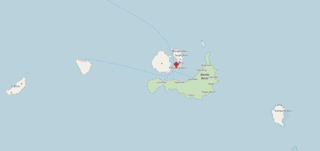 Molukken-Banda-Neira-Inseln