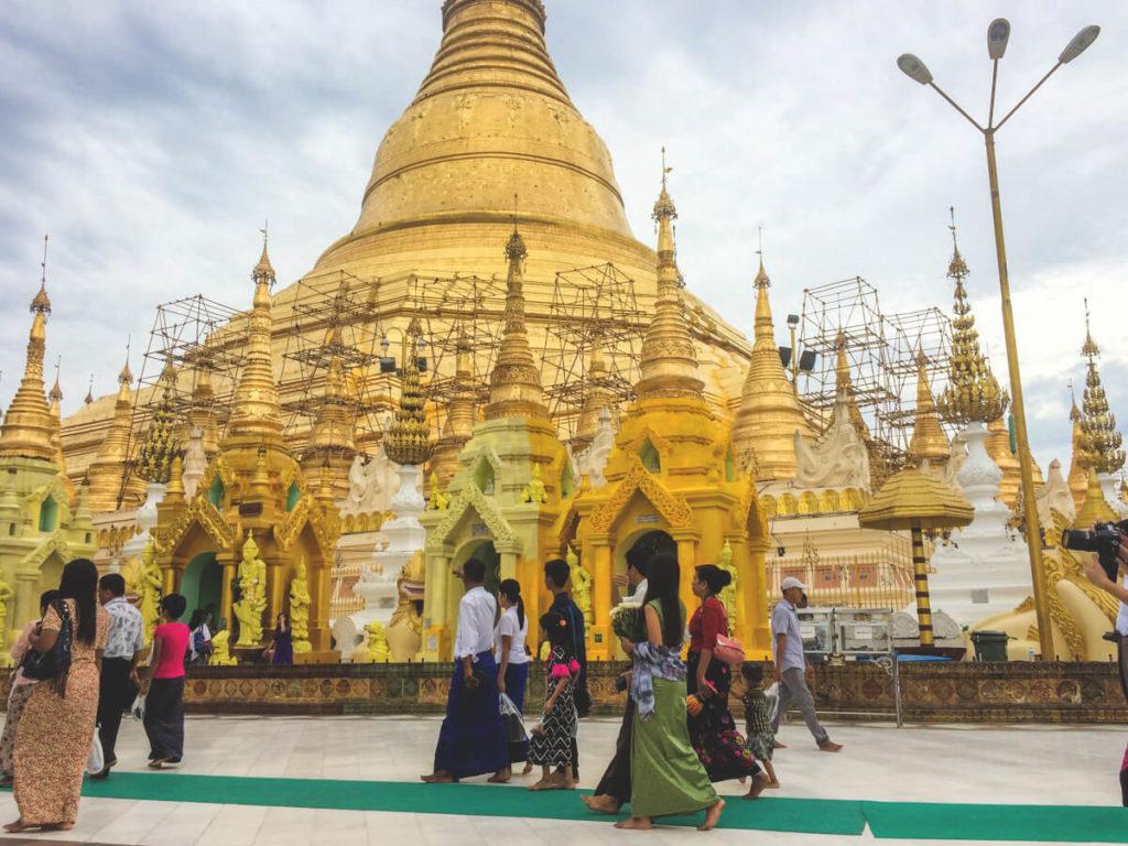 Myanmar-Rundreise-Shwedagon-Pagode