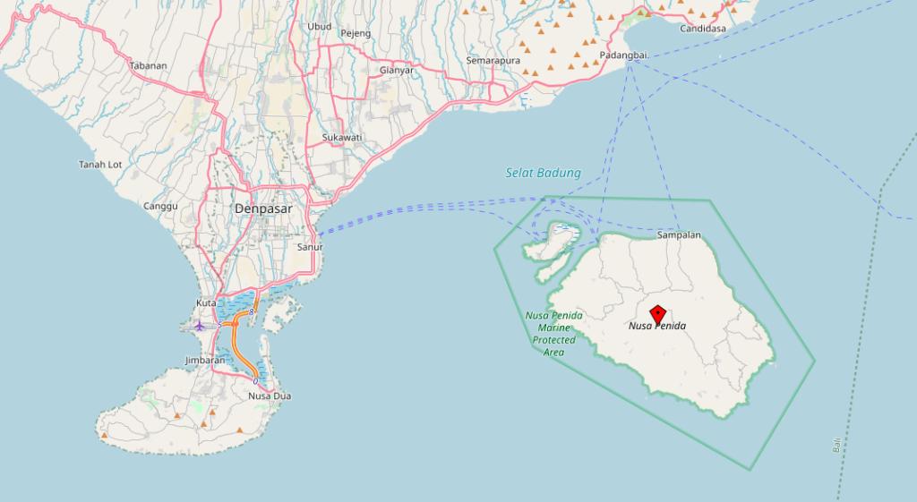 Nusa-Penida-Karte-Map