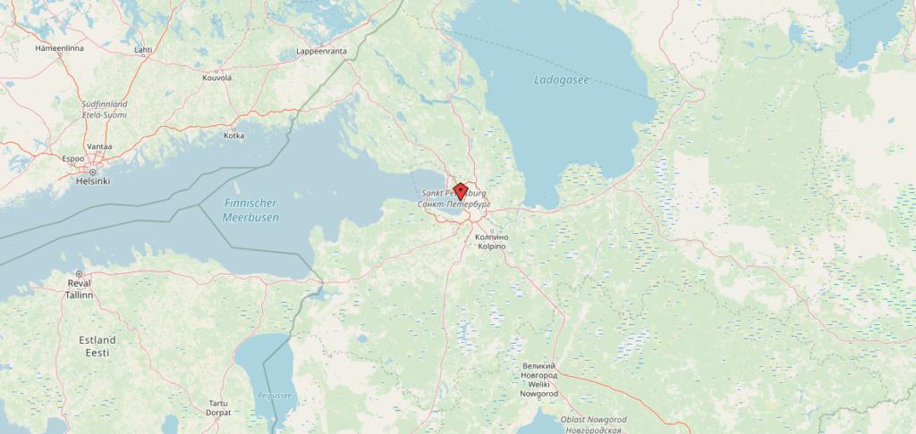 St-Petersburg-Highlights-Karte-Map