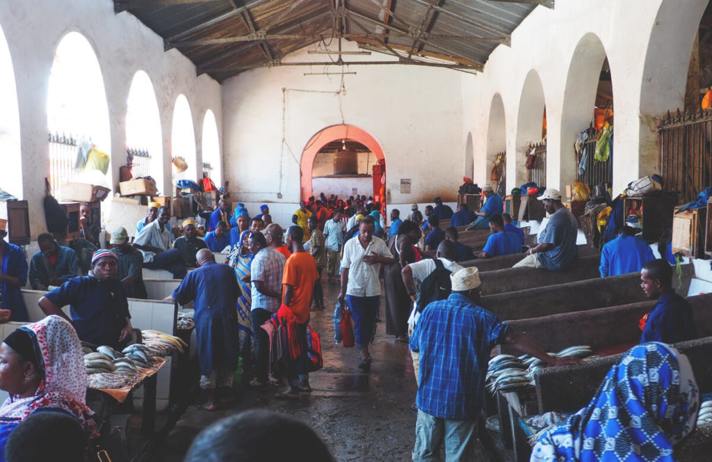 Stone-Town-Sansibar-Markt-Fischmarkt
