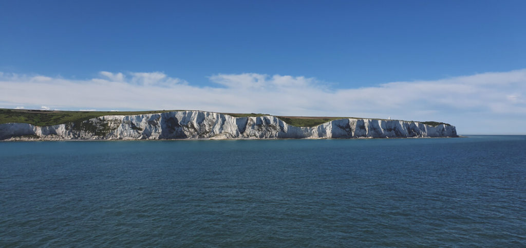 Kreidefelsen-Dover-Anreise-England-Faehre