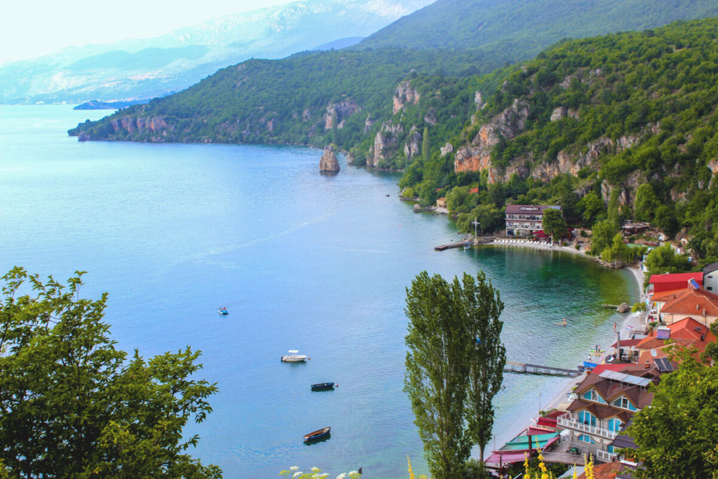 Nordmazedonien-Rundreise-Highlights-Ohridsee-Trpejca