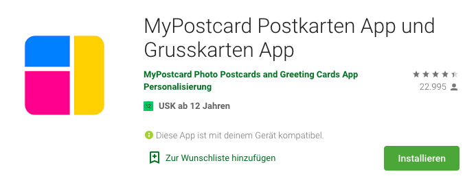 Postkarten-App-MyPostcard