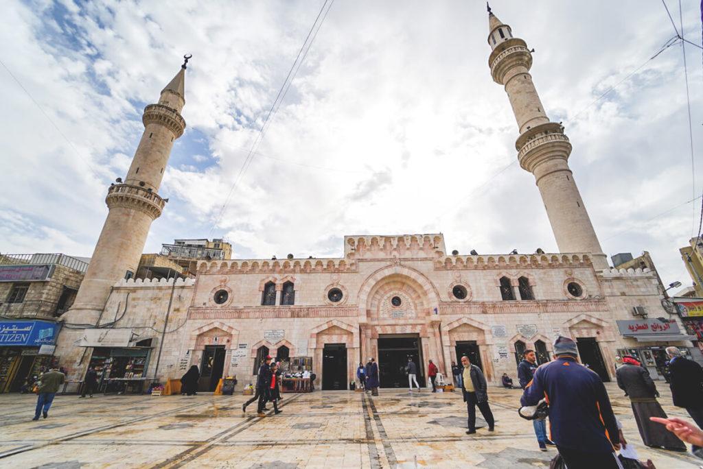 Amman Sehenswürdigkeiten Al Husseini Moschee