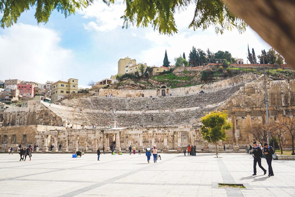 Amman Sehenswürdigkeiten Römisches Theater