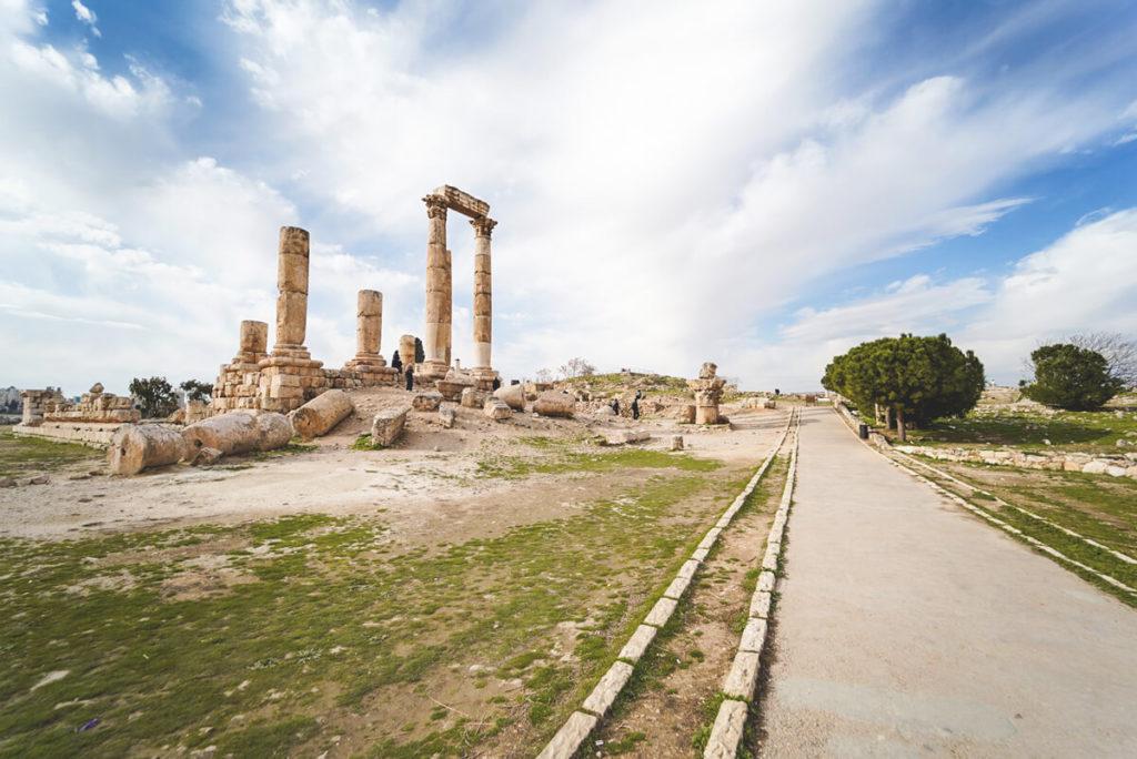 Amman Sehenswürdigkeiten Zitadelle