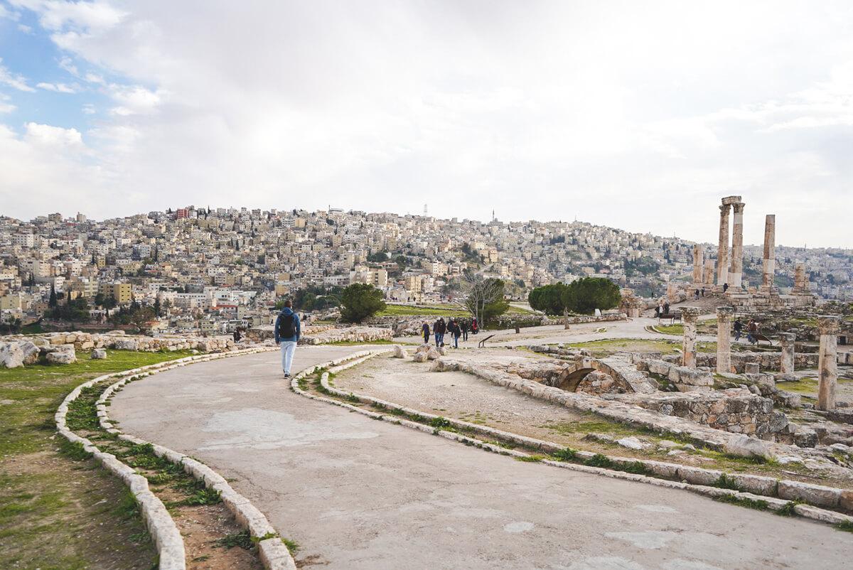 Amman-Sehenswuerdigkeiten-Zitadelle-Huegel-Aussicht