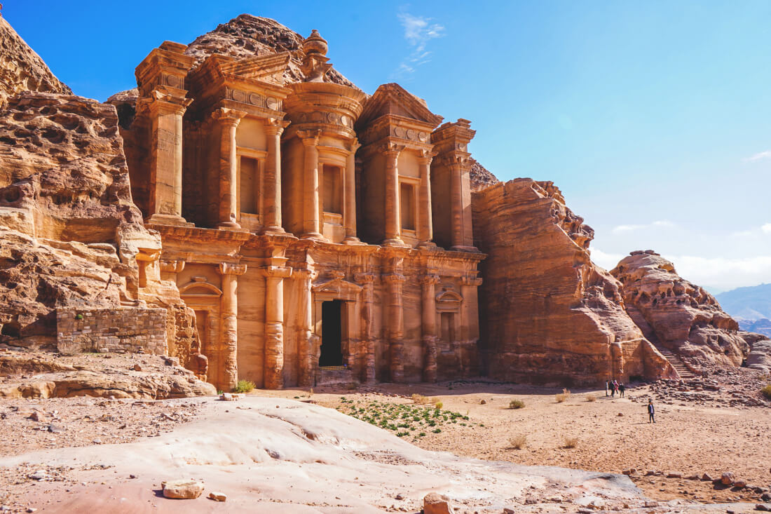 Felsenstadt-Petra-Jordanien-Wanderung-Monastery-3