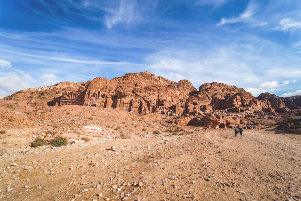 Felsenstadt-Petra-Jordanien-koenigsgraeber-2