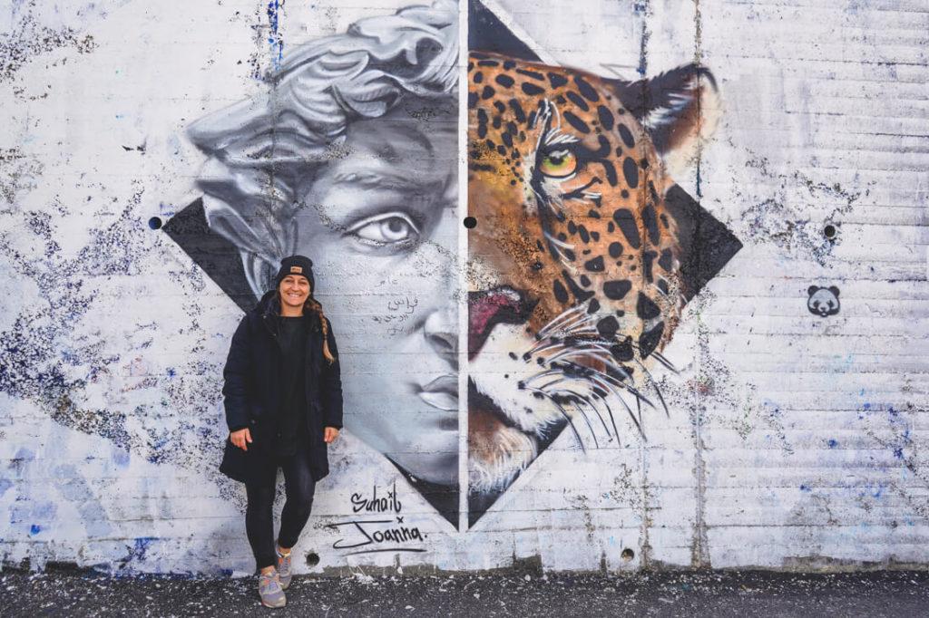 Jordanien-Rundreise-Amman-grafitti-mural