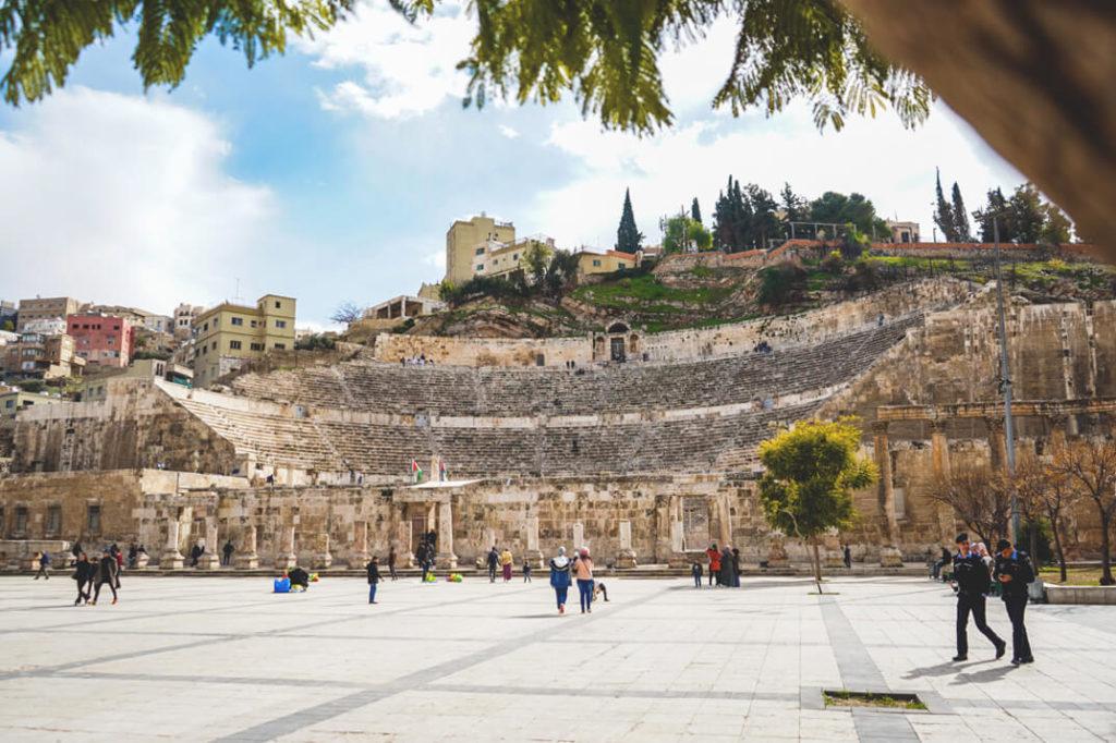 Jordanien-Rundreise-Amman-roemisches-theater