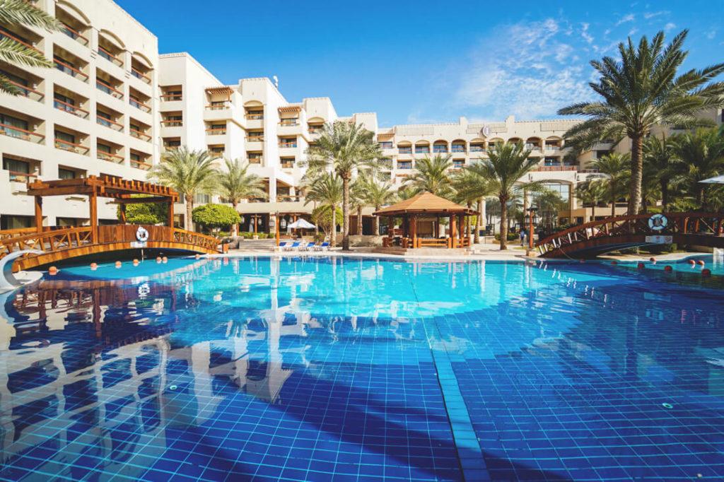 Jordanien-Rundreise-Aqaba-Intercontinental-hotel