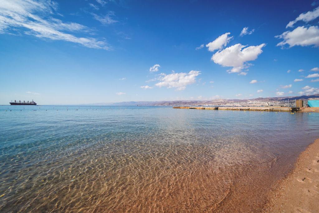 Jordanien Urlaub Rundreise-Aqaba-Stran