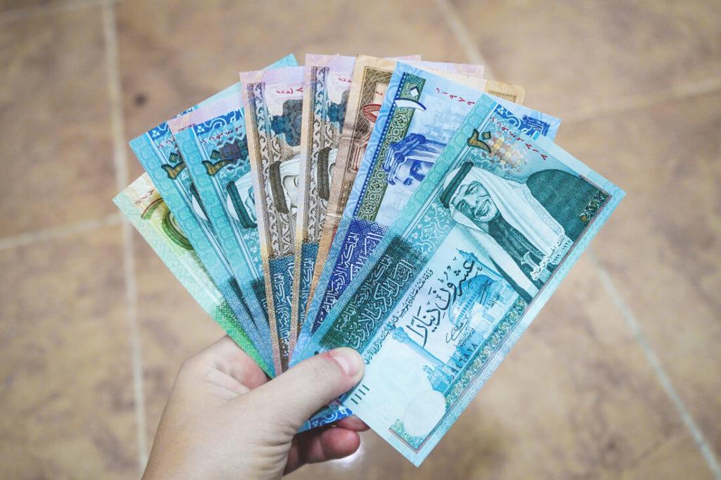 Jordanien-rundreise-Waehrung-dinar-geldscheine-1