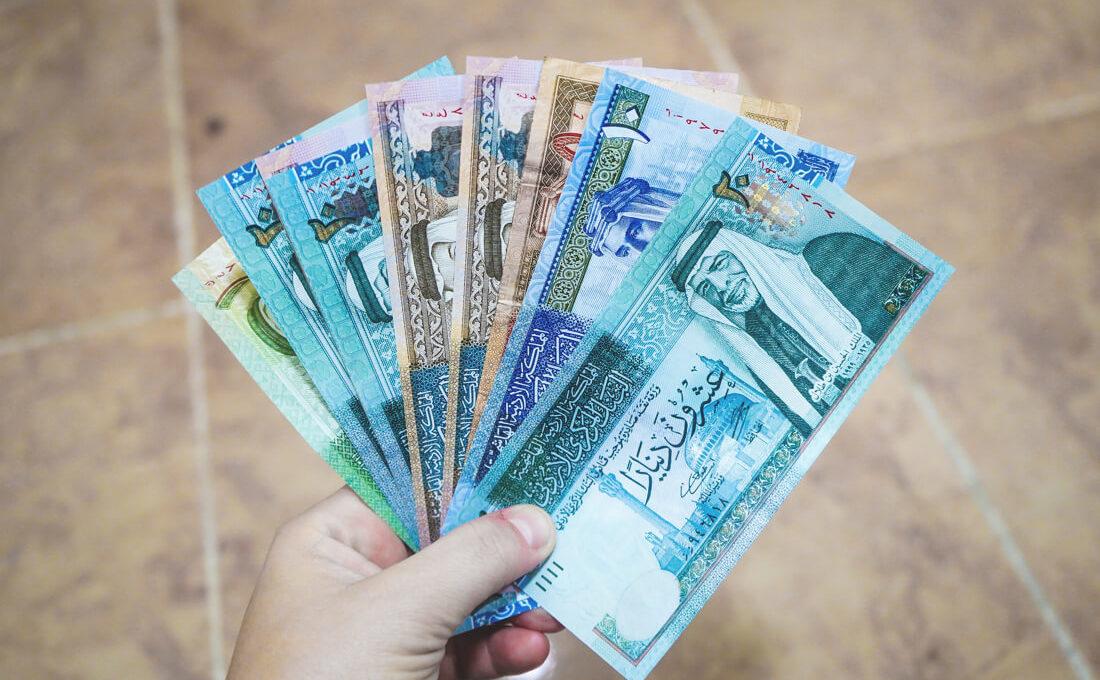 Währung Jordanien – Geld abheben, Bezahlen und Kreditkarte