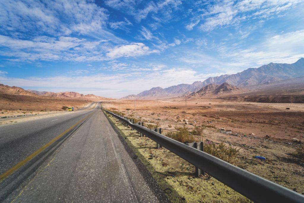 Jordanien Urlaub Infrastruktur Autofahren Straßen