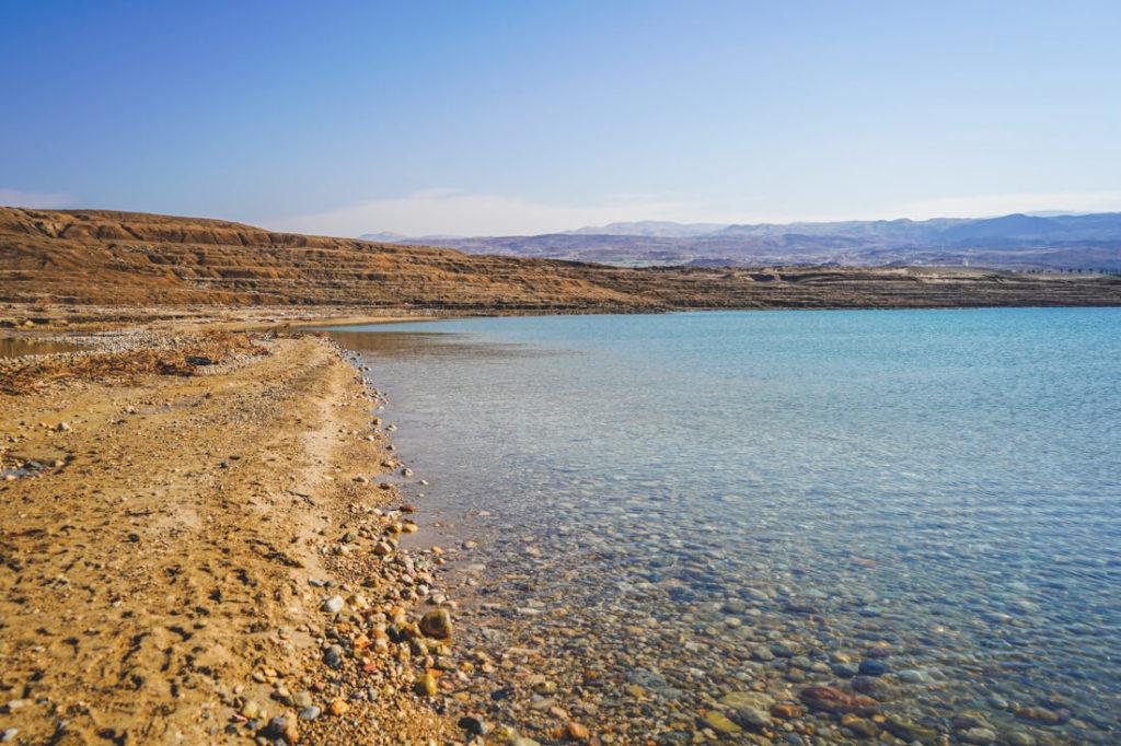 Totes-Meer-Jordanien-Wasser-Baden