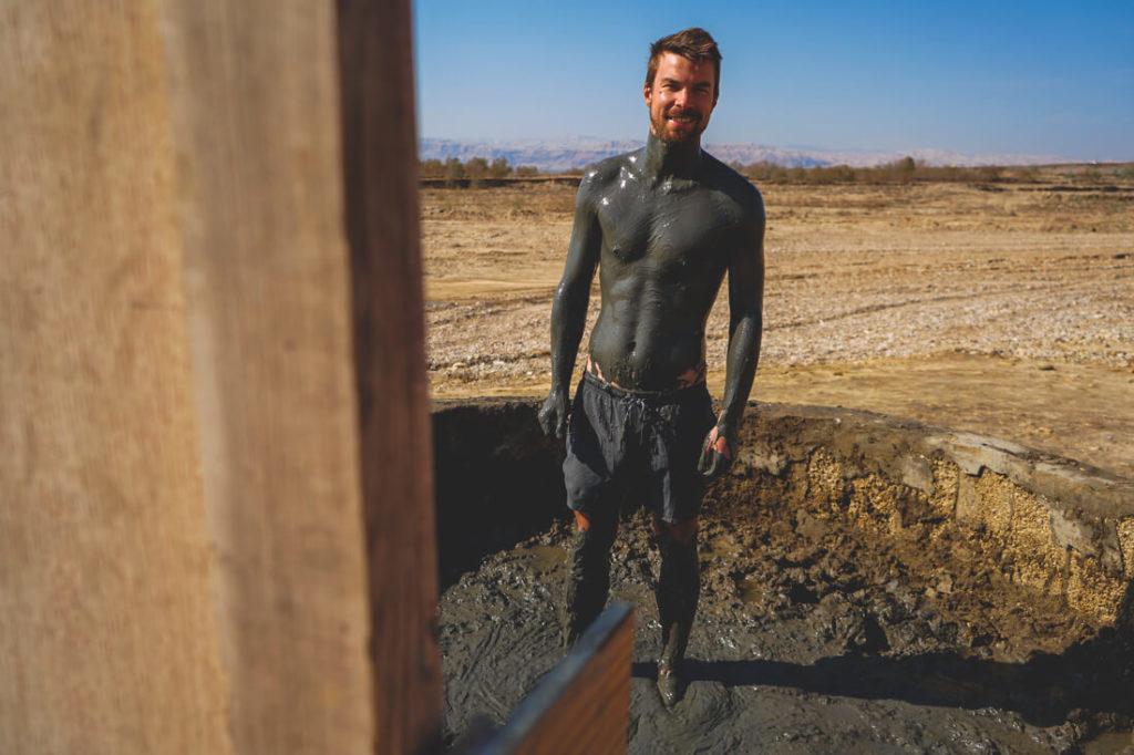 Totes-Meer-Jordanien-Wasser-Schlamm