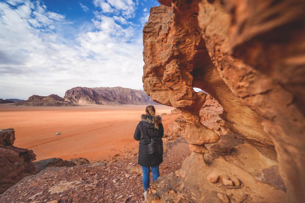 Wadi Rum Wüste Beste Reisezeit Jordanien