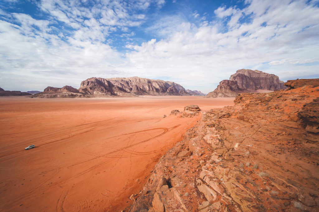 Sicherheit in Jordanien Wadi Rum Tour