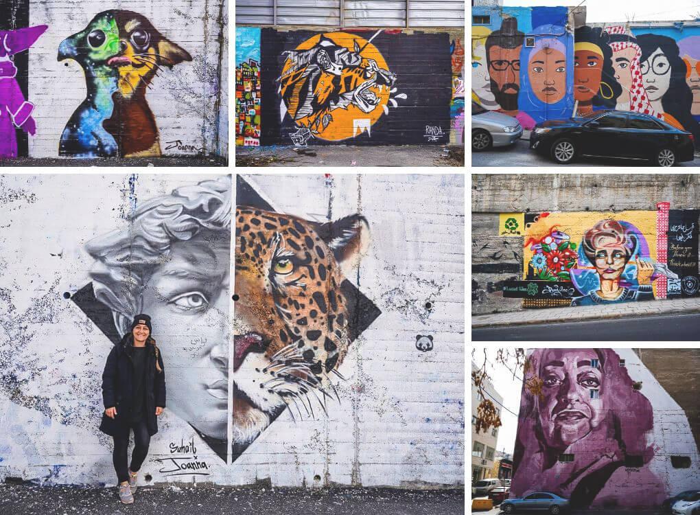 Amman Sehenswürdigkeiten Street Art