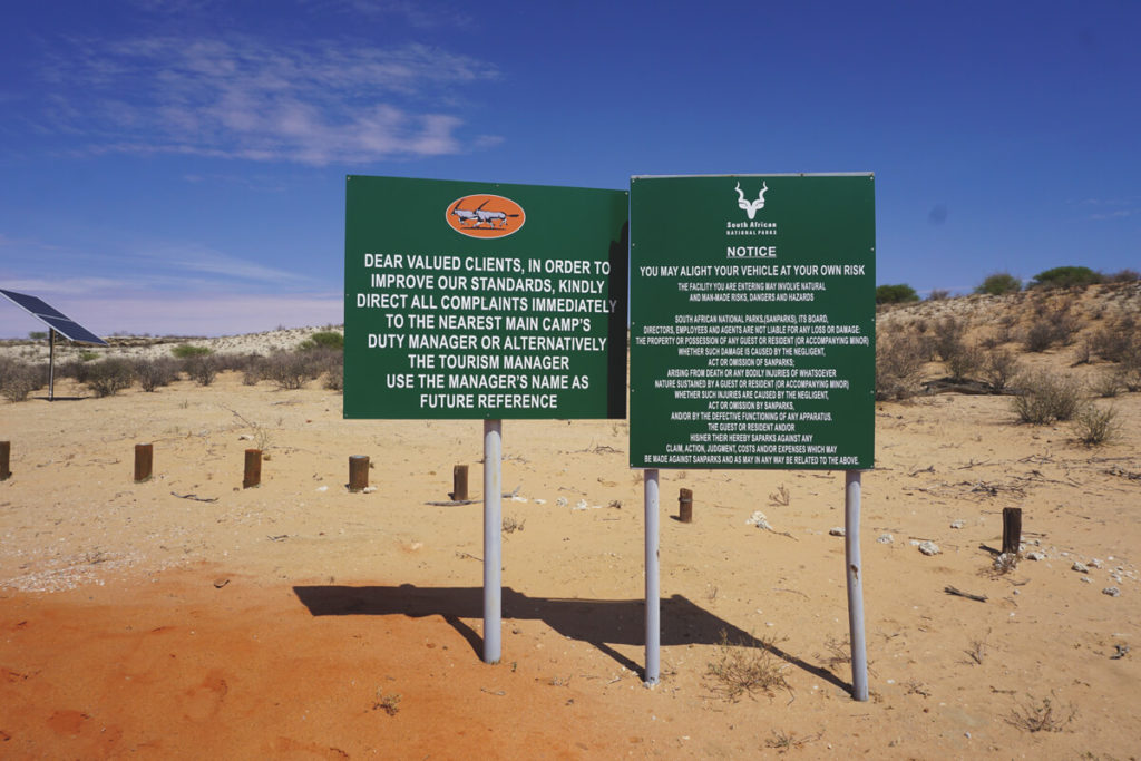 Kgalagadi-Transfrontier-National-Park-Picnic-Site-Rules