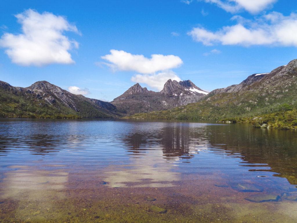 Tasmanien-Sehenswuerdigkeiten-Cradle-Nationalpark-See