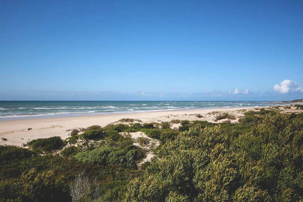 Jeffreys Bay Garden Route Südafrika Strand Meerblick