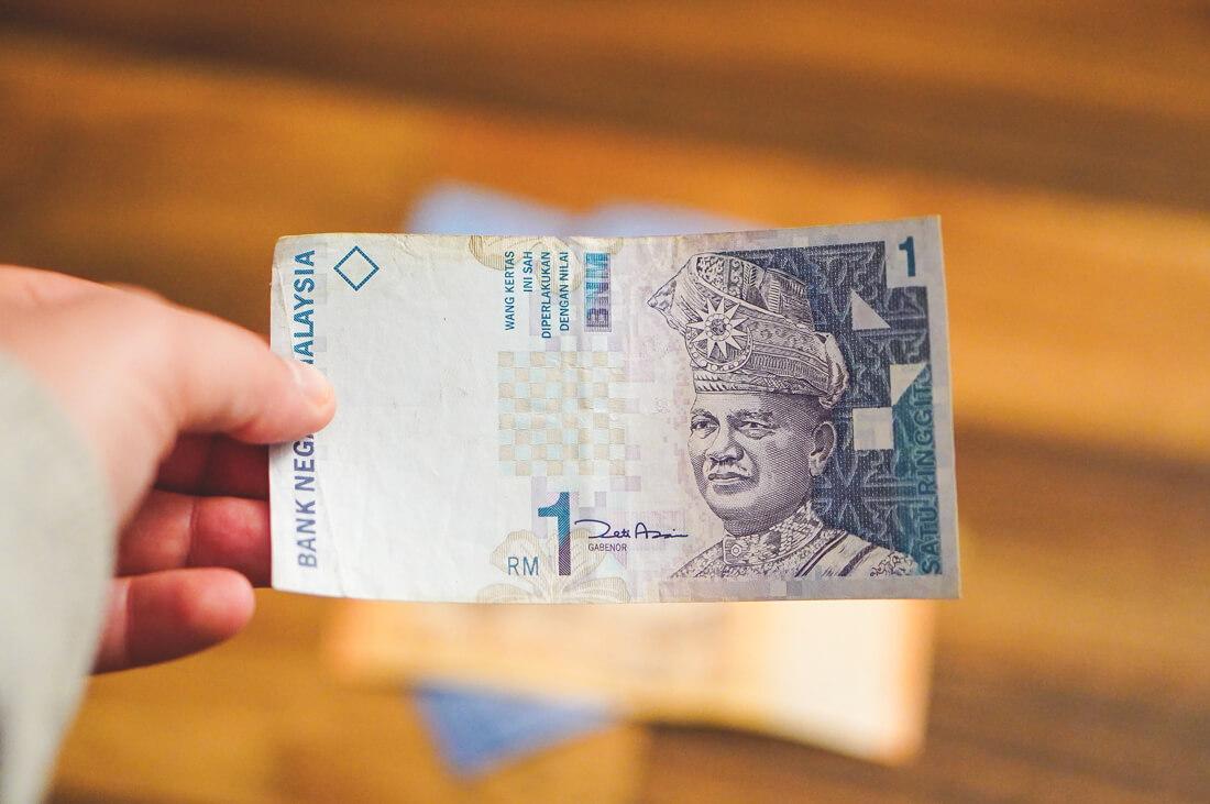 Malaysia-Waehrung-Geldschein-1-Ringgit