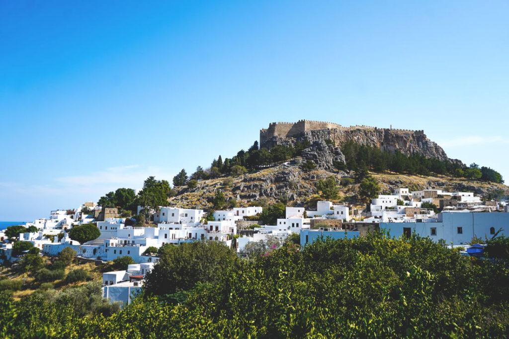 Rhodos-Reisetipps-Akropolis-Lindos