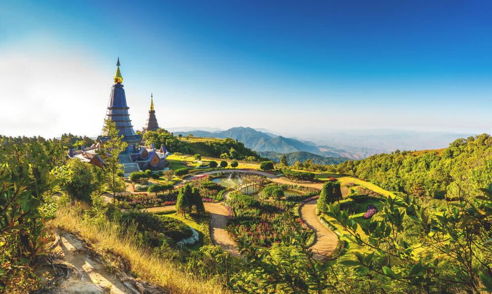 Thailand Sehenswürdigkeiten Do Inthanon
