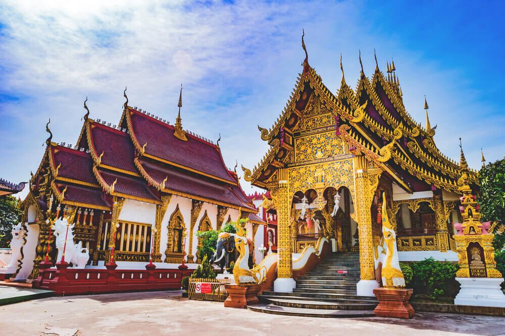 Thailand Sehenswürdigkeiten Chiang-Mai-Tempel