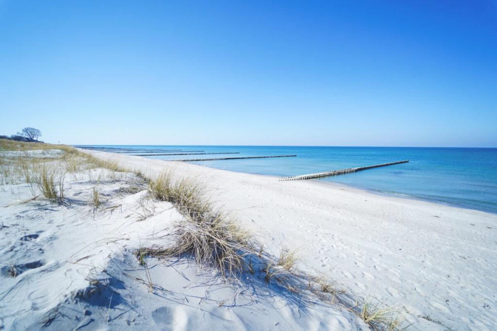 Deutschland-Urlaub-Fischland-Darss-Zingst-Strand