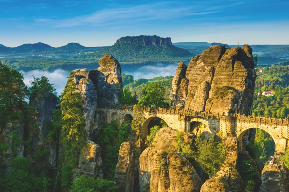 Deutschland-Urlaub-Saechsische-Schweiz-Bastei