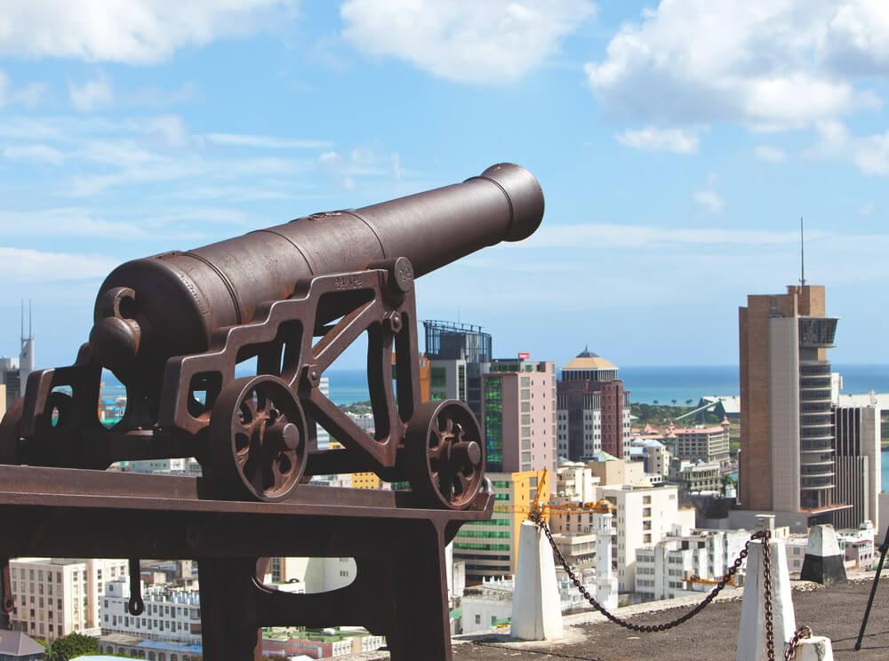 Sehenswürdigkeiten in Port Louis  Fort Adelaide Festung