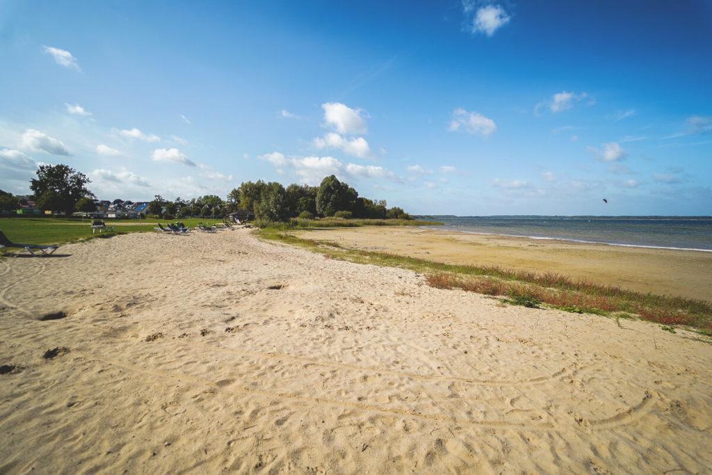 Mecklenburgische-Seenplatte-Fleesensee-Strand