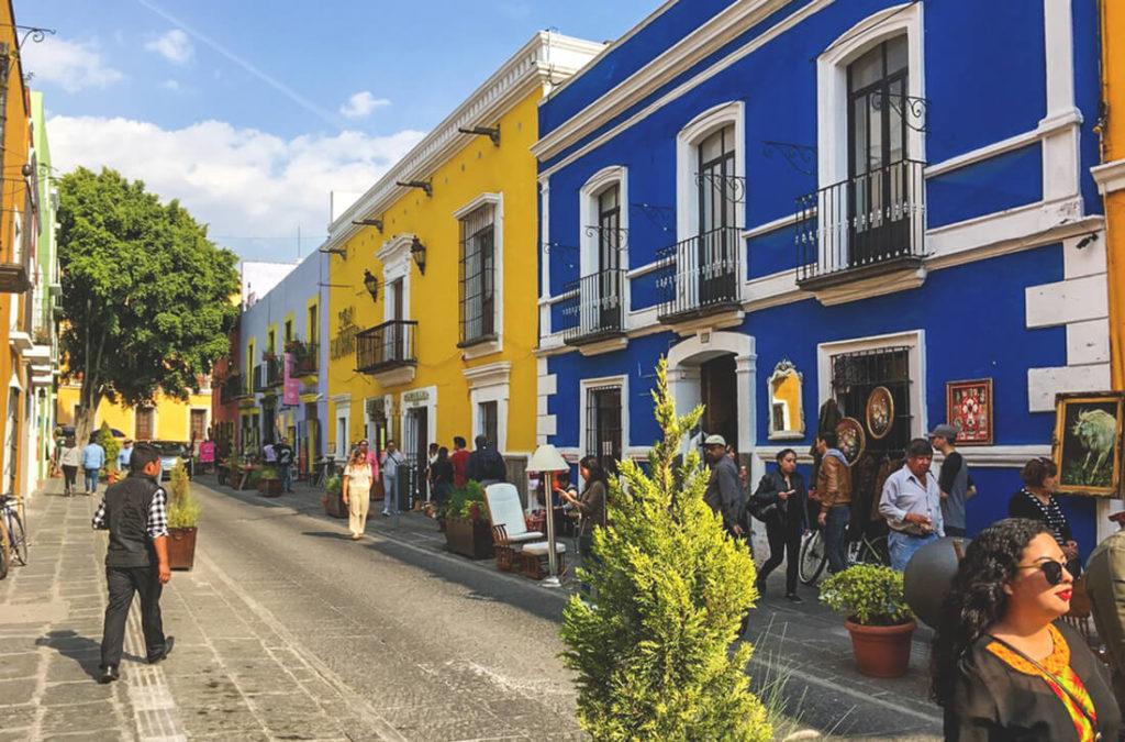 Mexiko-Highlights-Puebla-Innenstadt-Zentrum