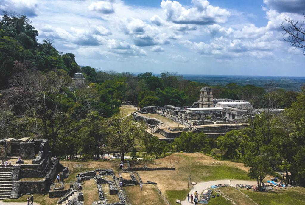 Mexiko-Sehenswuerdigkeiten-Palenque-Ruine-Maya