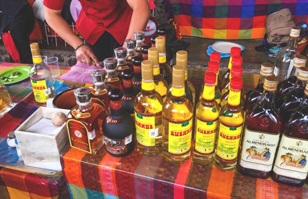 Mexiko-Trinken-Tequila