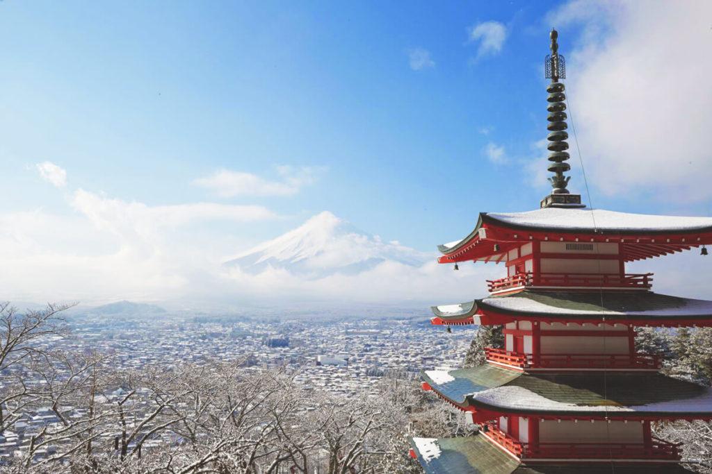 Urlaub-in-Japan-Mount-Fuji