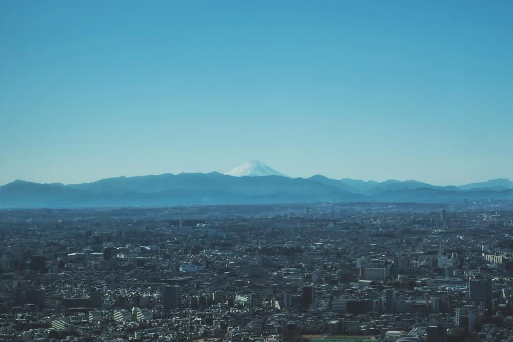Blick-auf-den-Mount-Fuji-tokio-japan-rundreise