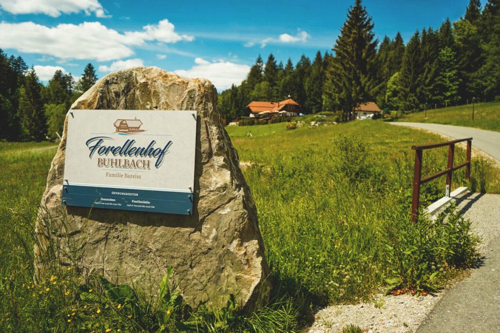 Eingang-Forellenhof-Buhlbach-Baiersbronn-Schwarzwald