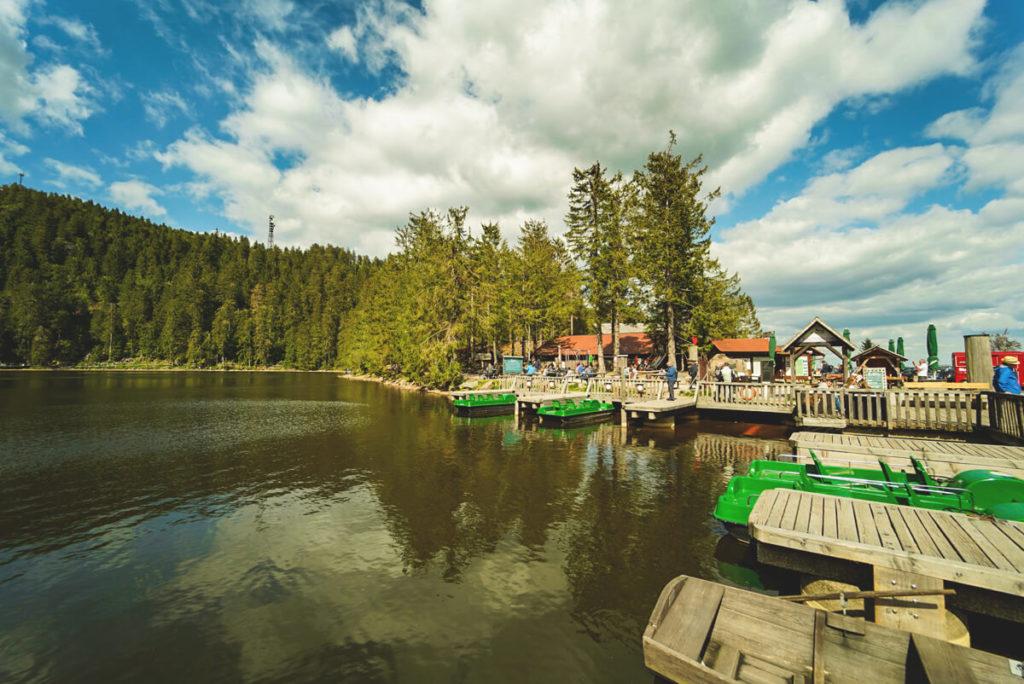 Mummelsee-Baiersbronn-Schwarzwald-Boote